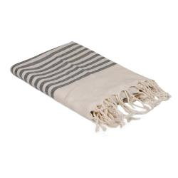 Černo-bílý ručník, 170 x 90 cm