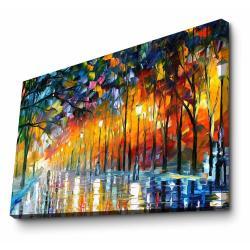 Nástěnná reprodukce na plátně Leonid Afremov, 100 x 70 cm