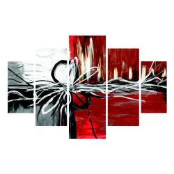 Vícedílný obraz Chaos, 92x56 cm