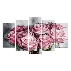 Vícedílný obraz Bouquet, 110x60 cm