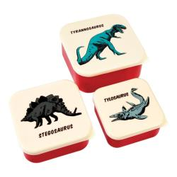 Sada 3 svačinových boxů Rex London Prehistoric Land