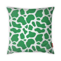 Zeleno-bílý povlak na polštář Vitaus Animal Print, 43 x 43 cm