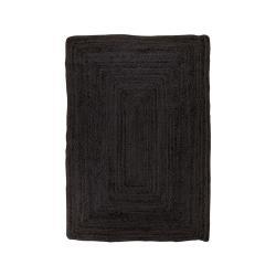 Černý koberec House Nordic Bombay Rug, 90 x 60 cm