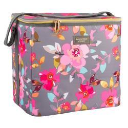 Květovaná chladící taška Navigate Grey Floral, 20 l