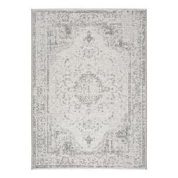 Šedobéžový venkovní koberec Universal Weave Lurno, 77 x 150 cm
