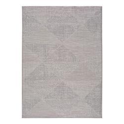Šedý venkovní koberec Universal Macao Grey Wonder, 77x150cm