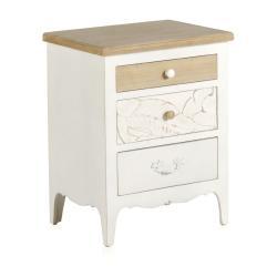 Dřevěný noční stolek Geese Emma