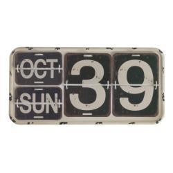 Černý nástěnný kalendář Geese Time