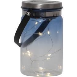 Venkovní solární lucerna Best Season Tint Lantern Blue