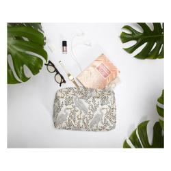 Kosmetická taštička Linen Couture Flamingo