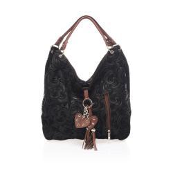 Černá kožená kabelka Giorgio Costa Terst