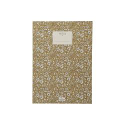 Zápisník A Simple Mess Nynne Golden Yellow, 25x18cm