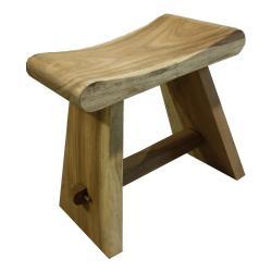 Stolička ze dřeva mungur HSM collection Rondo