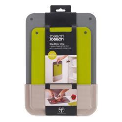 Sada 2 krájecích plastových prkének v samolepicím závěsném pouzdře Joseph Joseph DoorStore