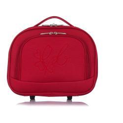 Červený kosmetický kufřík LPB Anna, 10,3l