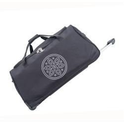 Černá cestovní taška na kolečkách GERARD PASQUIER Miretto, 45 l