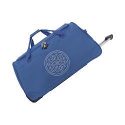 Modrá cestovní taška na kolečkách GERARD PASQUIER Miretto, 45 l