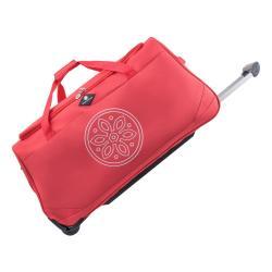 Červená cestovní taška na kolečkách GERARD PASQUIER Miretto, 61 l
