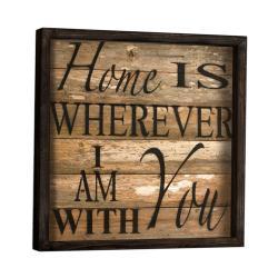 Nástěnný obraz Sweet Home, 34 x 34 cm
