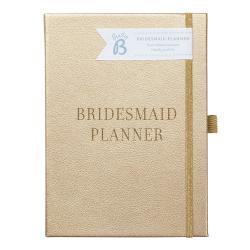 Zápisník ve zlaté barvě pro družičku nebo svědkyni Busy B