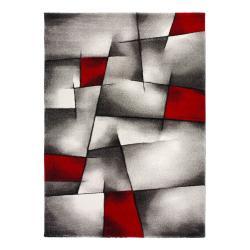 Červeno-šedý koberec Universal Malmo, 60x120cm