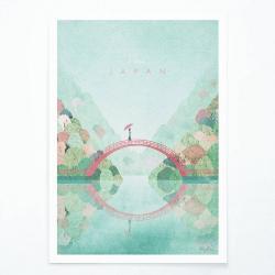 Plakát Travelposter Japan II, A3