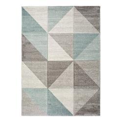 Modro-šedý koberec Universal Retudo Naia, 80x150cm