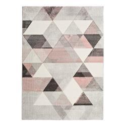 Šedo-růžový koberec Universal Pinky Dugaro, 80x150cm