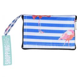Skládací nákupní taška Flamingo, 37 x 50 cm