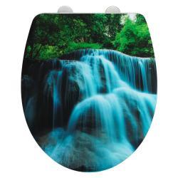 Toaletní prkénko se snadným zavíráním Wenko Waterfall