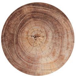 CORKWOOD Prostírání vzhled dřeva - hnědá