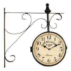 Nástěnné hodiny Antic Line Station Clock