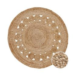 ALL NATURE Konopný koberec s děrovaným vzorem