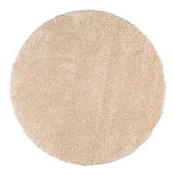 Krémově bílý koberec Universal Aqua Liso, ø80cm