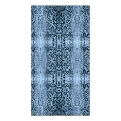 Petrolejový koberec Vitaus Becky,160x230cm