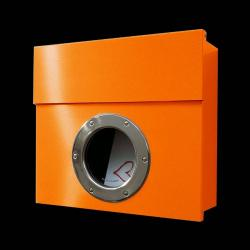 Absolut/ Radius Designová poštovní schránka Letterman I, oranžová