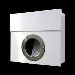 Absolut/ Radius Designová poštovní schránka Letterman I, bílá