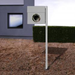 Absolut/ Radius Stojanová poštovní schránka Letterman, stříbrná