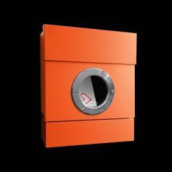 Absolut/ Radius Nástěnná poštovní schránka Letterman II, oranžová