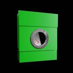 Absolut/ Radius Nástěnná poštovní schránka Letterman II, zelená