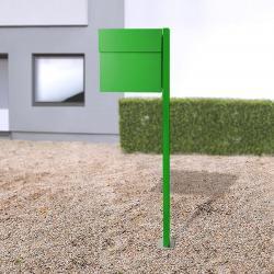 Absolut/ Radius Letterman IV stojanová poštovní schránka zelená