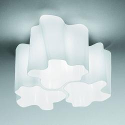 Artemide Artemide Logico stropní světlo 3zdr. 120° 33x33 cm