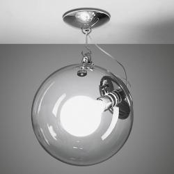 Artemide Artemide Miconos skleněné stropní světlo chrom
