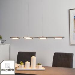 Brilliant Přímočará závěsná LED lampa Uranus, easydim