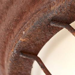 Brilliant Venkovsky rustikální stropní světlo Typhoon