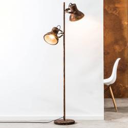 Brilliant Dvoubaňková stojací lampa Frodo