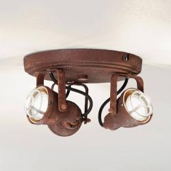 Brilliant Stropní světlo Bente rez kulaté, 3 žárovky