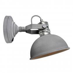 Brilliant Frieda - Betonově šedé nást. světlo, prům. design