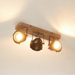 Brilliant Str.í světlo Carmen Wood prům. styl 3 žár.