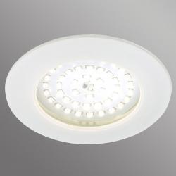 Briloner Bílé LED podhledové svítidlo Carl venkovní